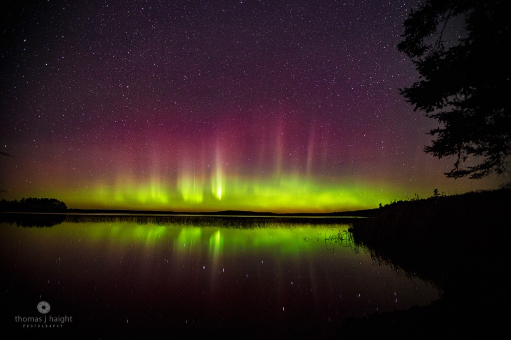 Aurora Borealis at Perch Lake