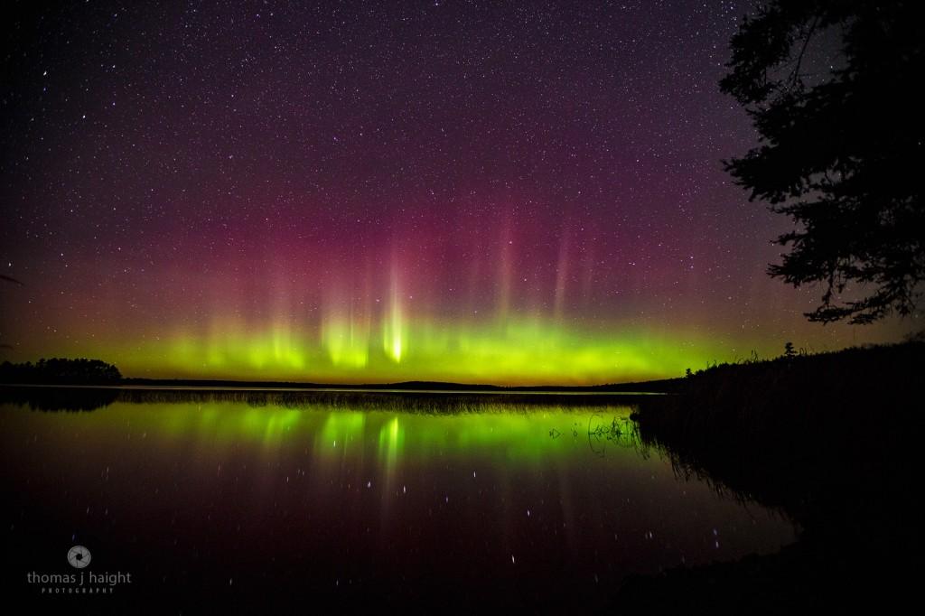 Aurora Borealis at Perch Lake